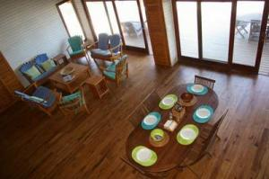 205 dining and living arial 4